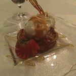 Dessert: Pine nut pie