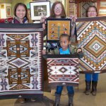 Navajo weaving, rugs and blankets.