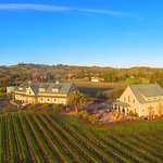 Los Amigos winery property with our tasting room