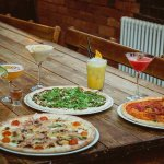 Carbona, Hoi Sin Duck & Pamplona Pizzas with a range of cocktails from our latest menu.
