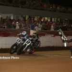 This is how close the finish was in the main event at The Red Mile