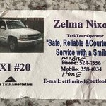 ZELMA! Best Taxi driver ever! USE HER while you are there!