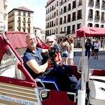 Luiz, Gracia y su perro Black