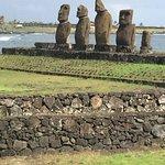 The other moai at Ahu Tahai