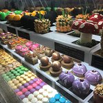 Delicious cakes and Macaroons