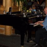 Piano guy at happy hour