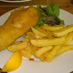Gluten free Beer batter fish & chips