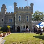 the castle and cafe