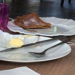 petit-déjeuner : crêpe immangeable