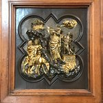This was the piece Ghiberti made to win the commission for the famous baptistry doors
