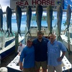 Rock Shaw, Paxton & Tom Heiting on Sea Horse Charters