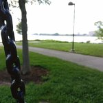 Swings to relax and enjoy the view