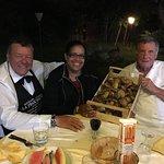 Carissimi Mario e Tullio, la cena eccezionale! L'indalara dì porcini semplicemente Divina!!!! A