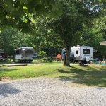 Raccoon Mt RV Campground was beautiful & extremely well maintained . Wonderful staff.  Location