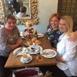 Absolutely fabulous afternoon tea with a cheeky glass of prosecco  at The Char Bar today, the gi