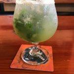 Basil Crush- vodka, lemon, lime, grapefruit, sugar, and basil. 🙂