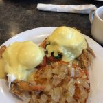 Soft shell crab eggs Benedict! Delicious!!