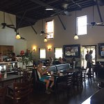 Interior of Colleen's at the Cannery, Haiku, Maui.