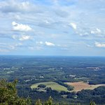 View from the top of Pilot Mt.