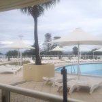 Pool access studio view