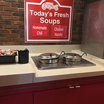 Daily soups.