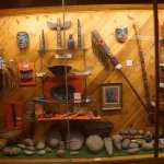 Indian Artifacts in Museum