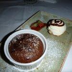 Caruso Liquid Chocolate Cake
