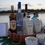 A menu of Gin Cocktails for sundowners