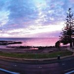 Beautiful morning and evening views.