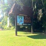 Entrance to Fiji Palms