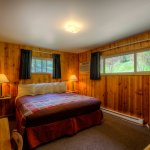 Two Room Cabin (Duplex)- Separate Bedroom- 1 King Size Bed