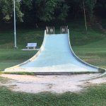 stone slide I used to go down as a kid