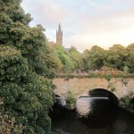 University of Glasgow behind the Park