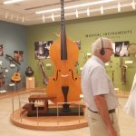 One of 100s of exhibits from around the world and of many types of music.