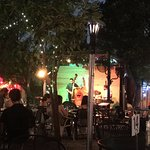 Great jazz in the back yard