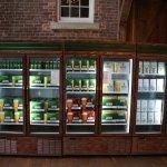 beer cooler at Alexander Keith's Brewery
