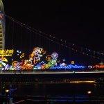 Christmas season bridge