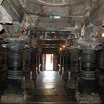 Inside Chennakesava Temple, Somanathapura