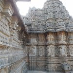 Peripheral of Chennakesava Temple, Somanathapura