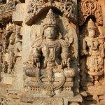Sculpture in Chennakesava Temple, Somanathapura