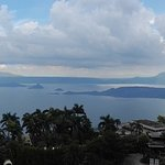 Stunning view of Taal Lake and Volcano from the eight floor
