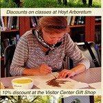 Benefits of membership to Hoyt Arboretum Friends (HAF) A Non-profit Oranization
