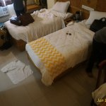 Cheap hotel with good location and good food..