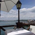 vue partielle à droite .... sur la lagune (en fait vue à 180° ... superbe)