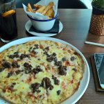 Nessie Pizza and Cheesy Chips