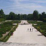 Parco: vista frontale dal balcone