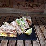 NOUVEAU: club saumon fumé....