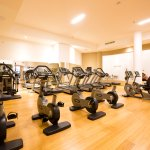 Mercure Olbia Fitness Area - surrounded by a familiar and welcoming environment.