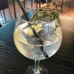 Edinburgh G&T with lemon and thyme