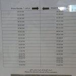 Bus Schedule Ramadan 2017